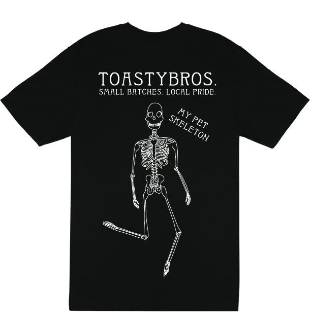 Black Skeleton T-Shirt